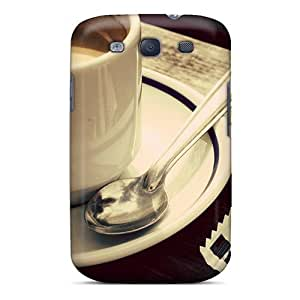 Premium Biscuit Coffee Cup Heavy-duty Protection Case For Galaxy S3