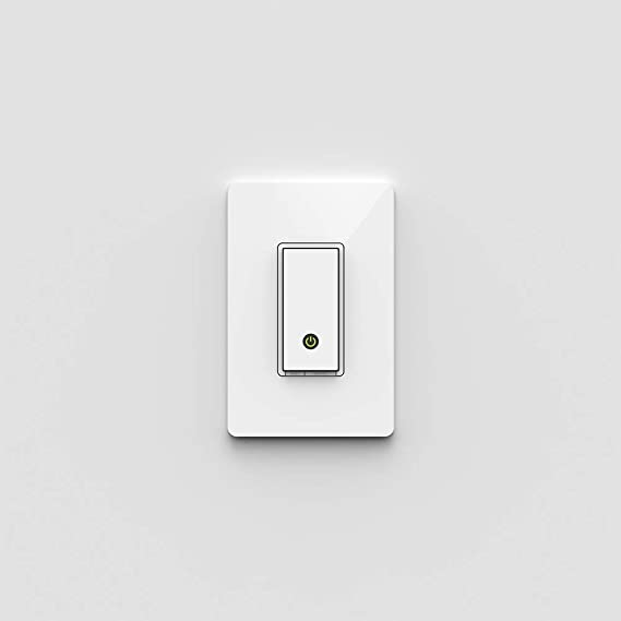 Amazon.com: Wemo Light Switch, Wi-Fi enabled, Works with Alexa and ...