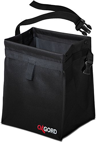Car Trash Bag Waste Bin - Leak-proof Garbage Can for Multipurpose Litter Basket with Back Seat Holder