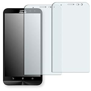 2x Golebo Semi-Matt protectores de pantalla para Asus ZenFone 2 Laser (ZE600KL) - (efecto antirreflectante, montaje muy fácil, removible sin residuos)