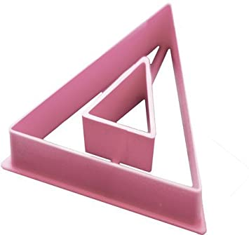 greek letter delta cookie cutter 3 inches