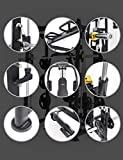 ALTAS Strength AL-3000 Multi Function Smith Machine Black and Yellow 2000IB Workout Light Commercial Fitness Equipment
