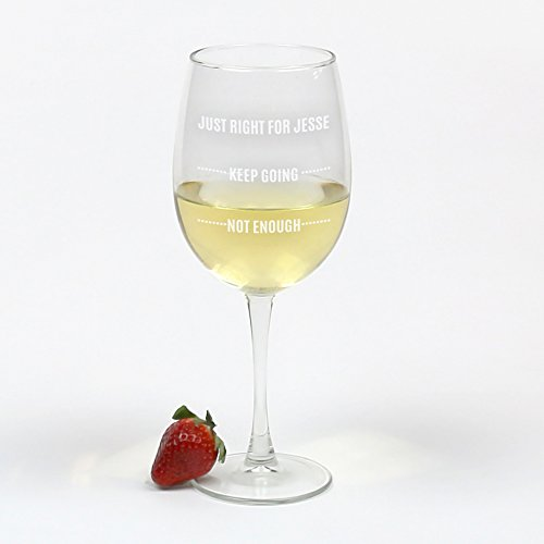 Personalized Arc Cachet White Wine (Cachet White Wine Glass)