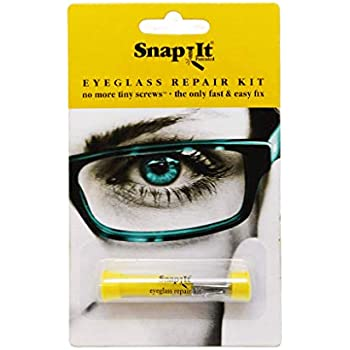 Amazon.com: Snap It Eyeglass Repair Kit: Health & Personal Care