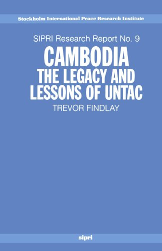 Cambodia: The Legacy and Lessons of UNTAC (SIPRI Research Reports) by Brand: Oxford University Press, USA
