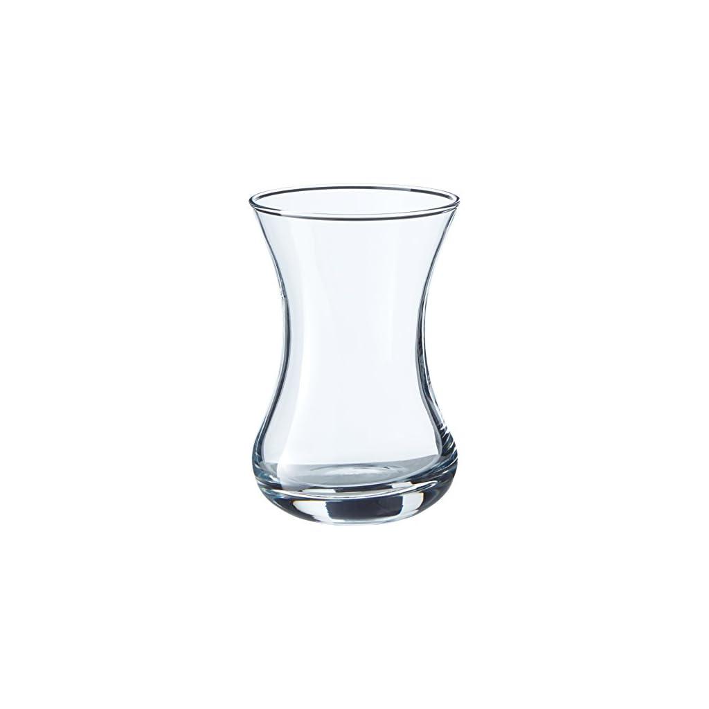 Pasabahce Extra Large Turkish Tea Glasses – 6 Glasses