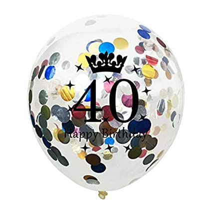 Tonver 40 Ans De Mariage Ballons En Latex 10 Pcs30 Cm