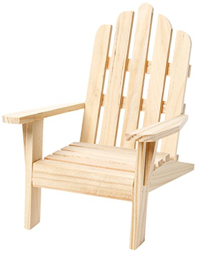 Darice 9132 66 Unfinished Wood Chair 45 By 6 Inch