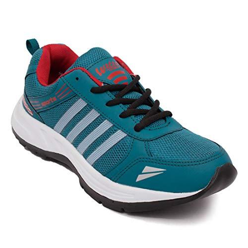 ASIAN Wonder-13 Green Red Running,Sports,Walking Shoes for Men UK-7 Price & Reviews