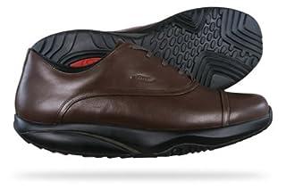 MBT KAMBA - Zapatillas para deportes de exterior de cuero para mujer marrón chocolate [top] marrón chocolate Talla:41