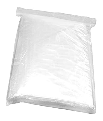 100 CLEAR 6 x 20 POLY BAGS PLASTIC LAY FLAT OPEN TOP PACKING ULINE BEST 2 MIL