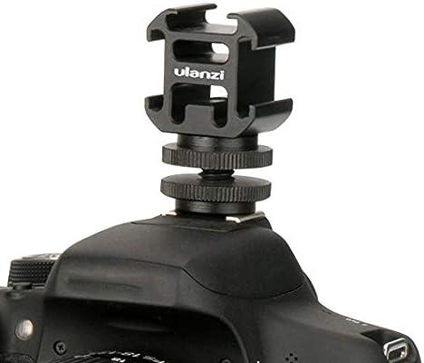 Adaptador de Montaje de Zapata para cámara Ulanzi con micrófono de ...