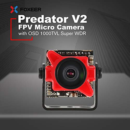 Wikiwand Foxeer Predator V2 FPV Micro Camera Cam with 1.8mm Lens OSD 1000TVL WDR NTSC by Wikiwand (Image #5)