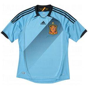 adidas Spain Villa #7 Soccer Jersey (Away 2012/13) L ()