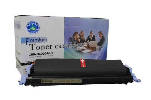 V4INK ® Remanufactured HP Q6000A Toner Cartridge-Black for HP Color LaserJet 2605/2605dn/2605dtn/CP1600/CP2600, Office Central