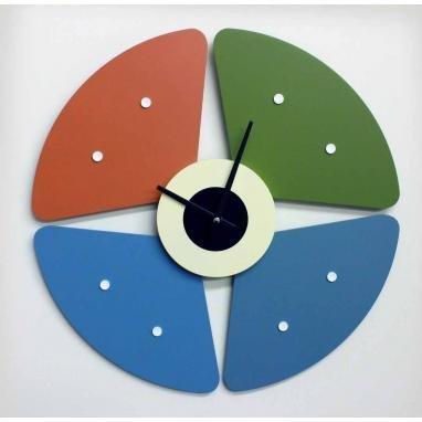 Telechron Petal Clock, Multi