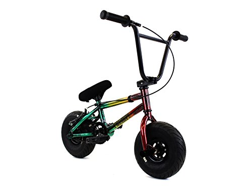 FatBoy Mini BMX Bicycle Freestyle Bike Fat Tires, Rasta - Tires Fat Bicycle
