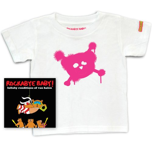 (Rockabye Baby! Lullaby Renditions of Van Halen + Rockabye Baby 100% Organic Cotton Toddler T-Shirt)