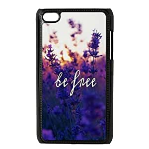 Be Free The Unique Printing Art Custom Phone Case for Ipod Touch 4,diy cover case ygtg580615