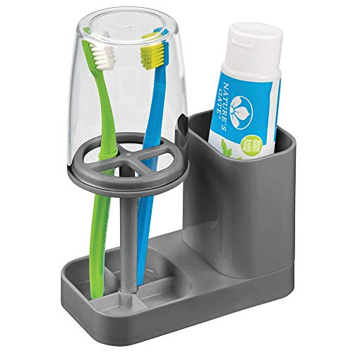 toothbrush holder with cover - 2