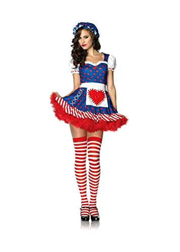 Darling Dollie Adult Womens Costumes (Darling Dollie Woman Costume And Red Petticoat Tutu (Medium))