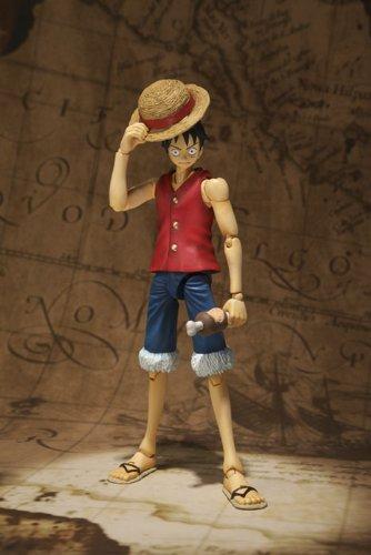 Figuarts 6 Inch Super Articulated Figure Monkey D One Piece Bandai S.H Luffy