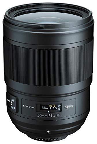 Tokina Opera 50mm f/1.4 Full Frame Lens Nikon F