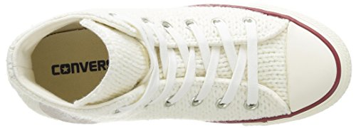 Converse All Star Hi Wool-winter Knit - Zapatillas Mujer White/Egret