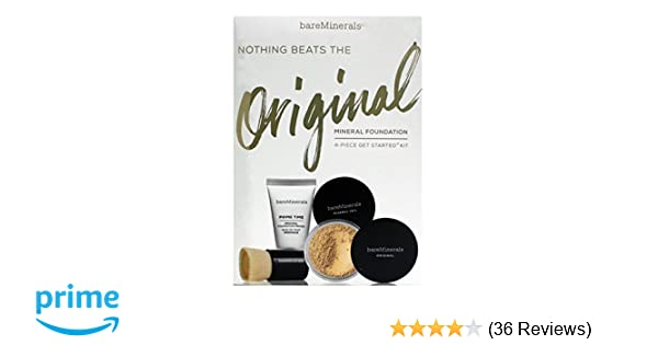 93afb4d378c Amazon.com: Bare Minerals Nothing Beats Org Gsk Fairly Light Set: Health &  Personal Care