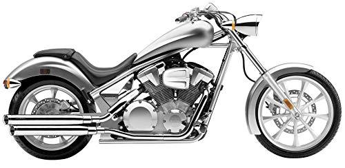 - Cobra 10-14 Honda VT1300CX Slip-On Exhaust (Chrome / 3