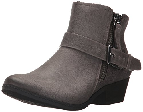 Not Rated Women's Tessa Motorcycle Boot Grey