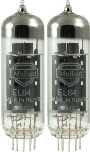 Mullard EL84, Matched Pair (2 tubes)