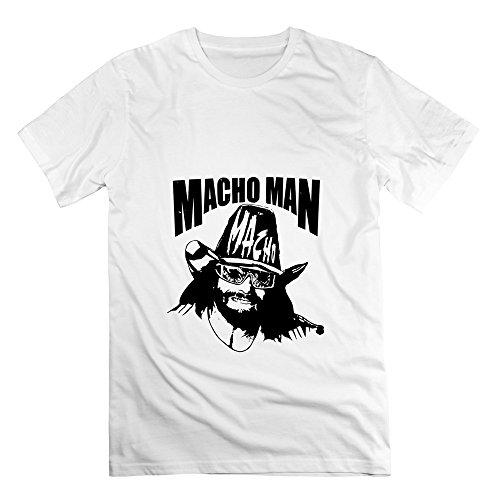 Miss Elizabeth Halloween Costume (Seico Men's Macho Man Randy Savage Wrestler Tees White Size XL)