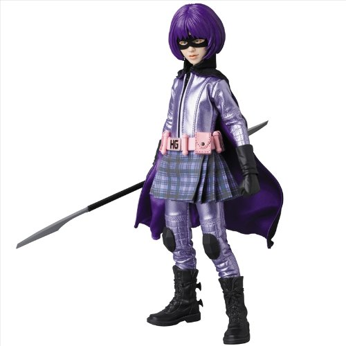 Hit Girl And Kickass Costume (Medicom Kick-Ass: Hit Girl Real Action Hero Figure)