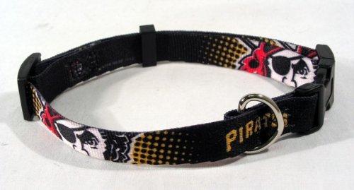 Hunter MFG Pittsburgh Pirates Dog Collar, Extra Small