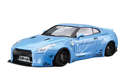R35 Series (Qingdao culture materials, 1 / 24-liberty walk series No.9 LB WORKS R35 gt-r Ver.1 model car)
