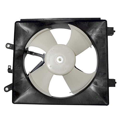 AC A/C Condenser Cooling Fan Assembly Replacement for Honda Coupe Sedan 38611-PMM-A01 AutoAndArt