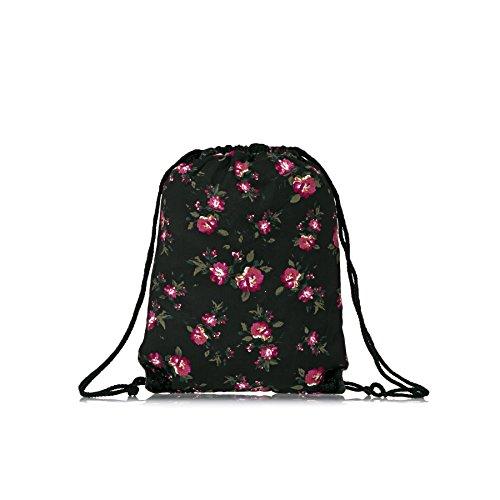 Vans Bags - Vans Benched Novelty Bag - Floral Black