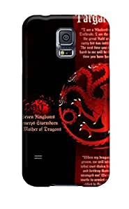 First-class Case Cover For Galaxy S5 Dual Protection Cover Game Of Thrones Daenerys Targaryen