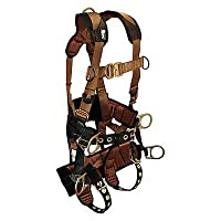 Falltech - G7084M - M Tower Climbing Tower Climb Full Body Harness CTech 6D, 5000 lb. Tensile Strength, 425 lb. Weight C