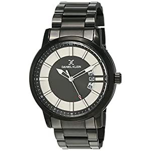 Daniel Klein Analog Black Dial Men's Watch-DK12108-3