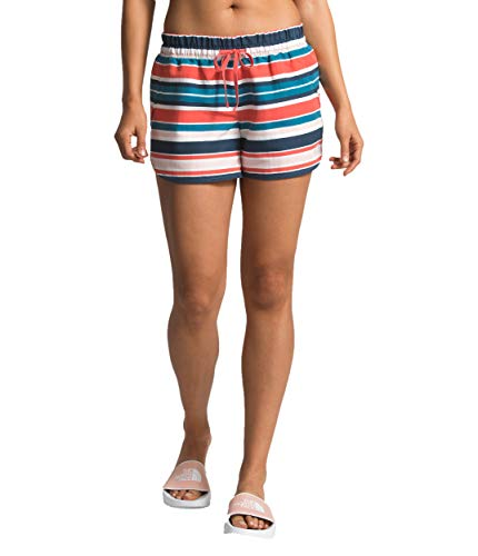 The North Face Women's Class V Short, TNF White W Variegated Stripe Print, Size -