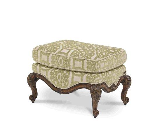 Bergere Chair Ottoman - Lavelle Melange Bergere Chair Ottoman