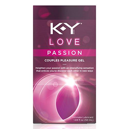 K-Y Love Couples Lubricant, 1.69 oz., Passion