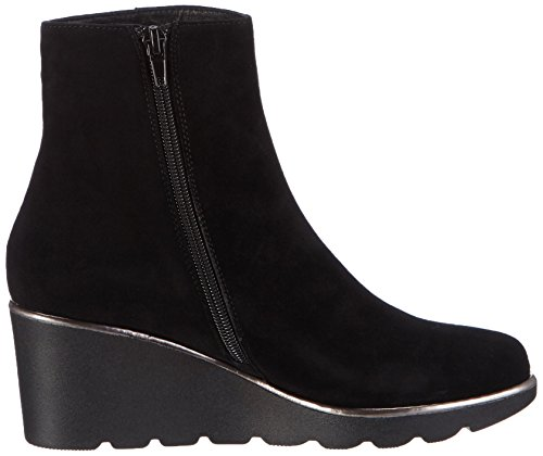 Giudecca 34 - botas de cuero mujer negro - negro