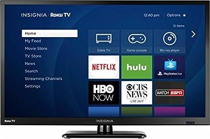 amazon com insignia 24 led 720p smart hdtv roku tv electronics rh amazon com TCL 55 TV Stand TCL 55 TV Stand