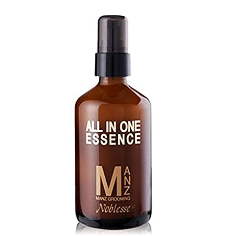 Noblesse Mens Grooming All-in-One Essence 3.3oz (100ml) Skin + Essence + Lotion (Desert Pure Yucca)