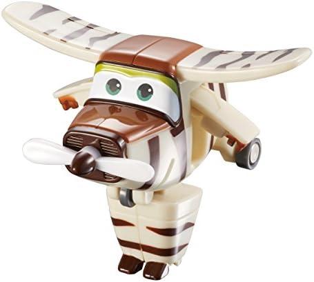 Super Wings Transform-a-Bots Bello EU710070-Transform-a-Bots, YW710070, Marron