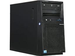 Lenovo System x3100 M5 4U ThinkServer Mini-Tower Server   Intel Xeon E3-1220 v3 3.10GHz Quad-Core   8GB RAM (32GB Max)   1TB HDD   DVD-RW   Matrox G200eR2