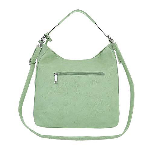 Ital Design clair Sac One porter pour l'épaule à à Vert femme vert Size faarxdnwq1